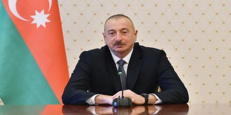 Aliyev: Karabağ, BMGK kararları temelinde çözüme kavuşturulmalı