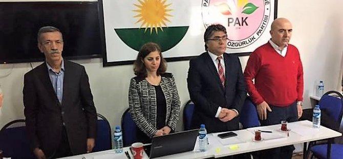 PAK: 'Kürtlerin varlığını red eden anayasa kabulumuz değildir'