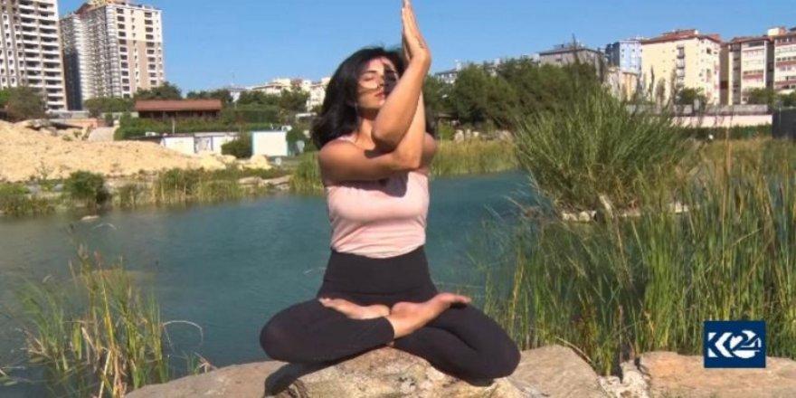 İstanbul'da bir ilk: Kürtçe yoga dersleri
