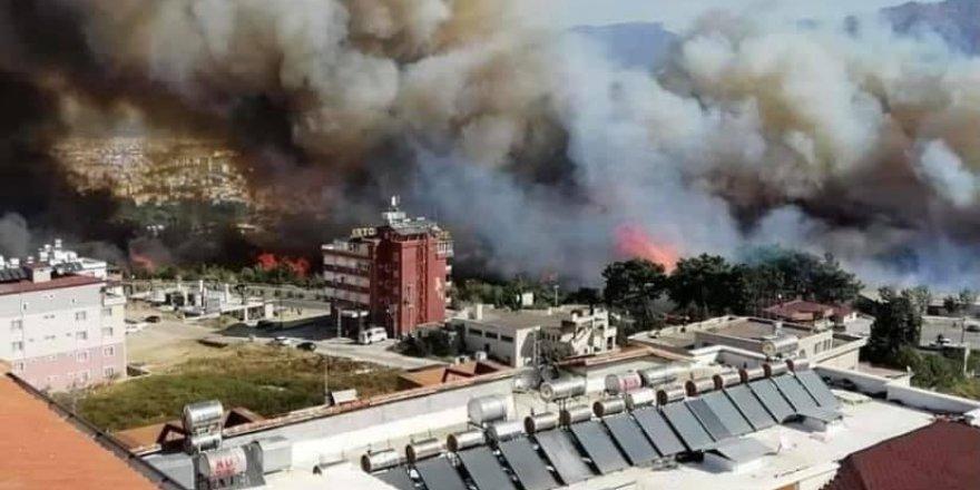 Hatay'da orman yangını söndürüldü