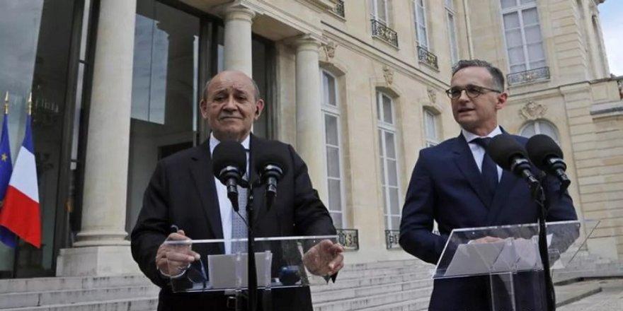 Fransa ve Almanya'dan Türkiye'ye tepki