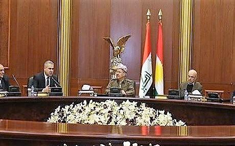 Barzani: Terör ve radikal düşünce tehlikesi karşısında dünyanın Kürdistan halkına ihtiyacı var