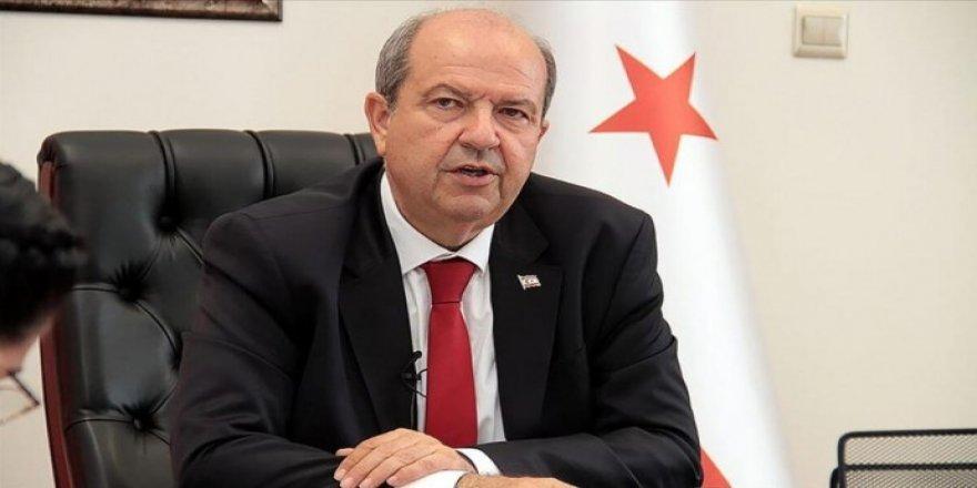 Kuzey Kıbrıs'ın yeni cumhurbaşkanı Ersin Tatar