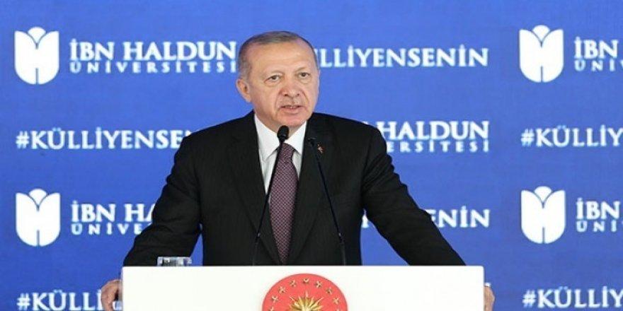 Erdoğan: Fikri iktidarımızı hâlâ tesis edemediğimiz kanaatindeyim