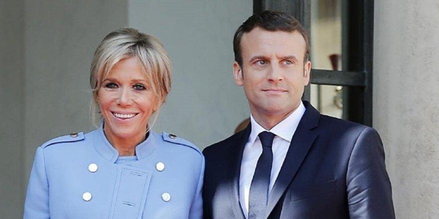 Macron'un eşi karantinaya alındı