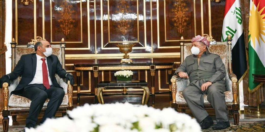 Başkan Barzani, Suriyeli muhalif liderle görüştü
