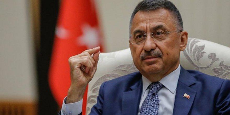Cumhurbaşkanı Yardımcısı Fuat Oktay: Azerbaycan'dan asker talebi gelirse Türkiye tereddüt etmez