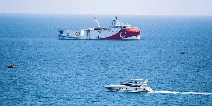 Oruç Reis araştırma gemisi için Navtex 27 Ekim'e kadar uzatıldı