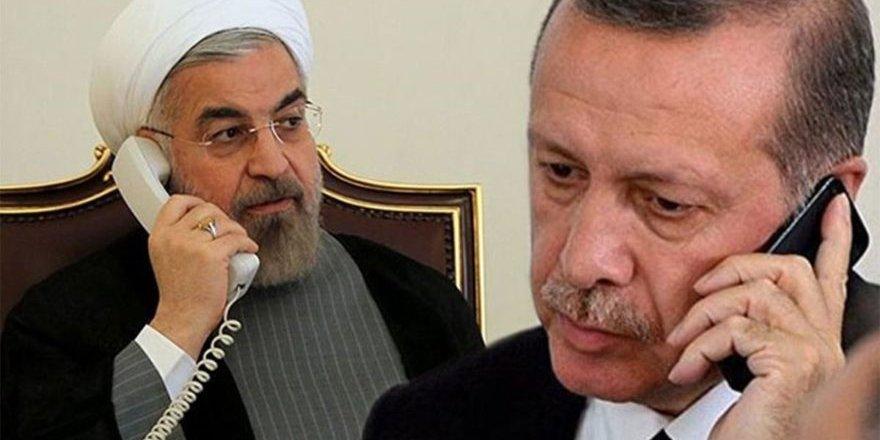 Erdoğan ve Ruhani, Karabağ ve Suriye'yi görüştü