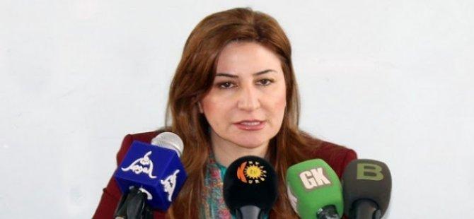 Ezidi Kürt parlamenter Viyan Dexil ABD'den ödül aldı