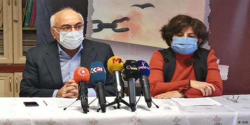 İHD: Türkiye'de baskı, tehdit ve kaçırmalar artıyor