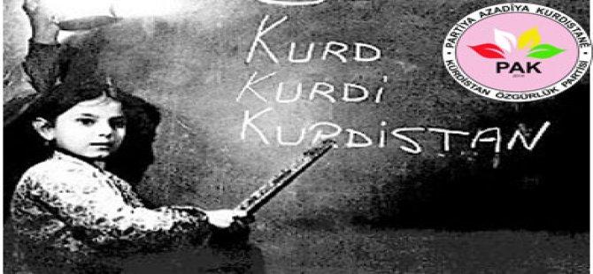 Kürtçe öğrenilmesini ve konuşulmasını yaşamın esas prensiplerinden biri olarak yerine getirmeliyiz