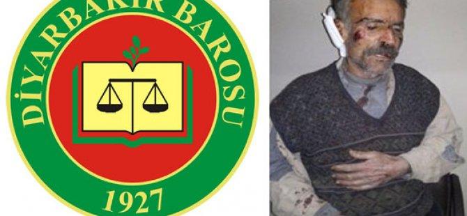 Amed Barosu Nusaybin'deki İşkence İddiaları ile ilgili Suç Duyurusunda bulundu.