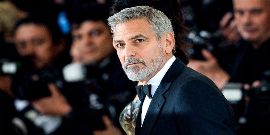 Clooney: Arkadaşlarıma 14 milyon dolar dağıttım