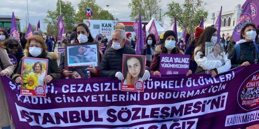 Kadın Cinayetlerini Durduracağız Platformu: Bu yıl 269 kadın öldürüldü