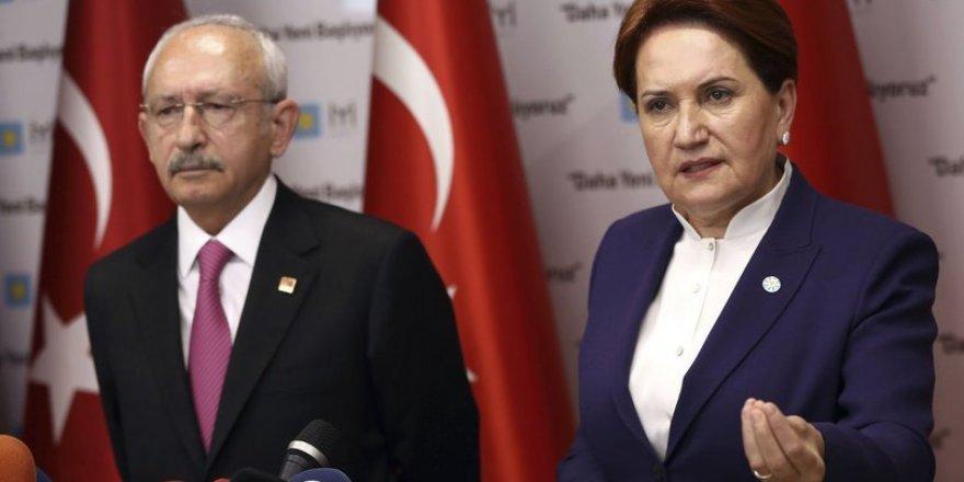 Kılıçdaroğlu ve Akşener'den ortak açıklama: Seçim istiyoruz