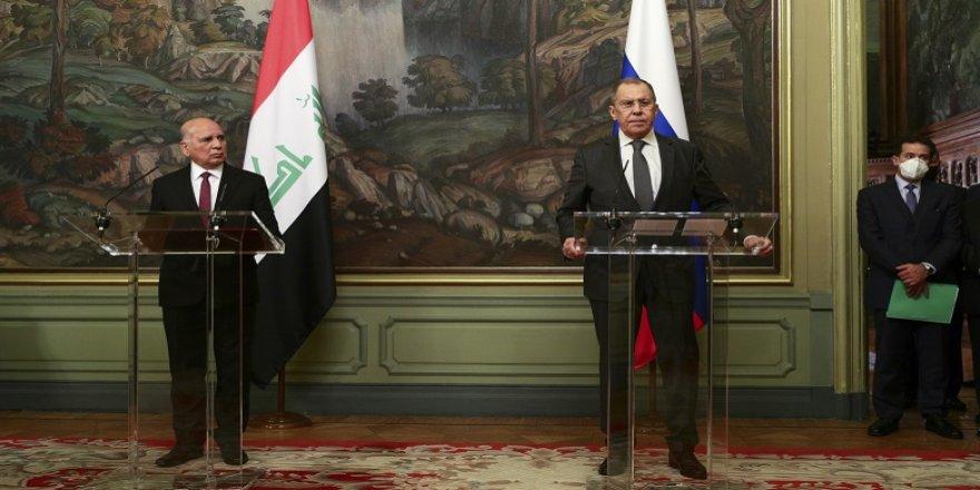 Lavrov: Irak'ın her türlü askeri ihtiyacını karşılayabiliriz