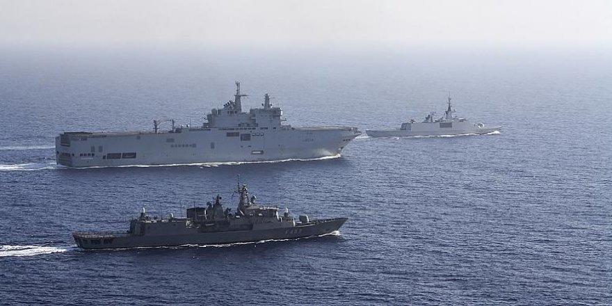 Mısır, BAE, Fransa, Yunanistan ve Kıbrıs Akdeniz'de ortak askeri tatbikata başladı