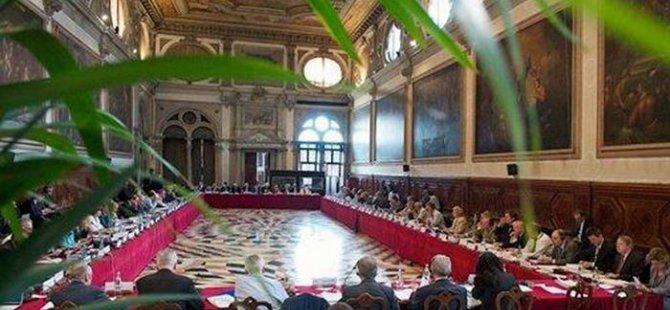 Venedik Komisyonu Türkiye'yi uyarıdı