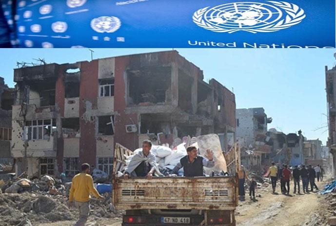 BM Raporu: Kürdistan'daki operasyonlarda 2 bin kişi öldü