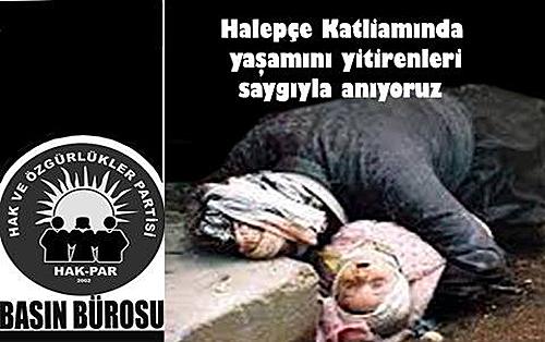 """""""Halepçe katliamı sırasında yapayalnız kalan Kürtler bir kez daha devletsizliğin acısını hissettiler"""""""