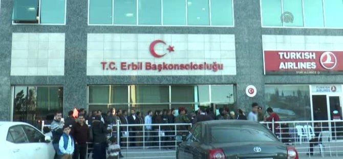 Erbil Başkonsolosluğu nasıl açıldı?