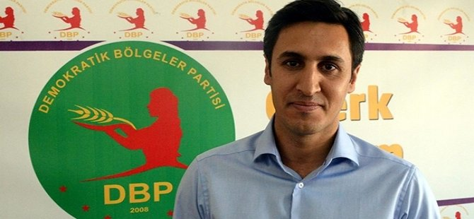 DBP Eş Genel Başkanı Kamuran Yüksek'e tutuklama kararı
