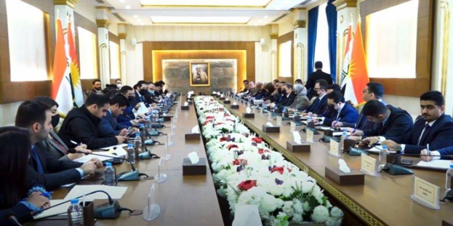 Bağdat ile müzakere heyeti Kürdistan Parlamentosu'nda