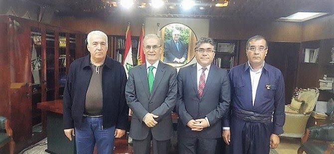 PAK Genel Başkanı Kerkük Valisi'ni Ziyaret Etti