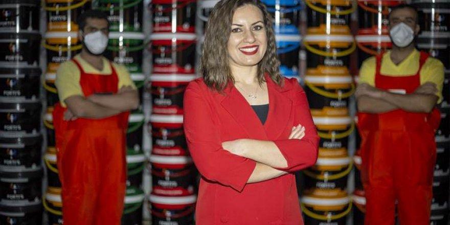 Diyarbakırlı kadın girişimci borç para ile başladığı işte fabrika sahibi oldu