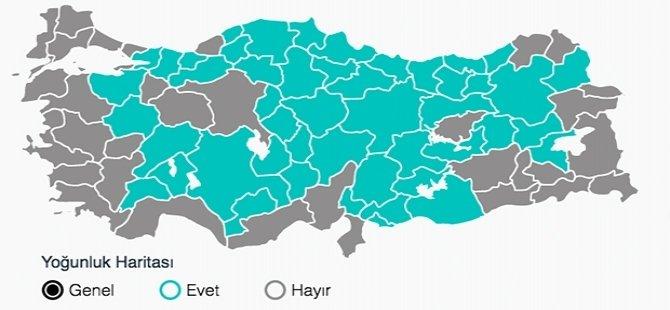 Türkiye: Anayasa değişikliklerine yüzde 51 'Evet' çıktı