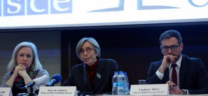 Avrupalı gözlemciler: Referandum standartları karşılamadı