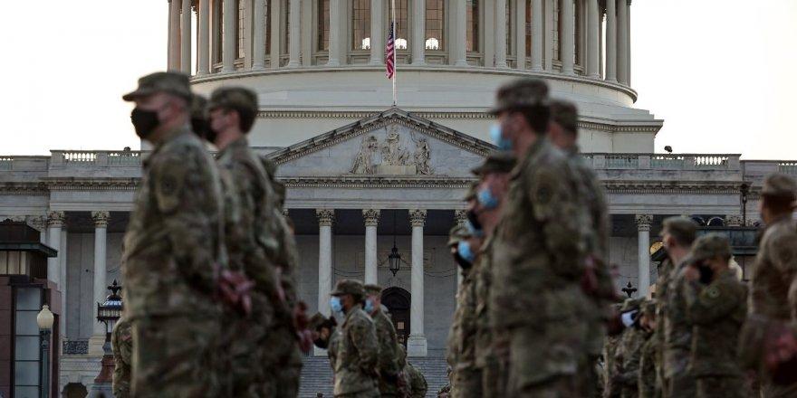 ABD'de alarm: Binlerce Ulusal Muhafız Kongre binasında