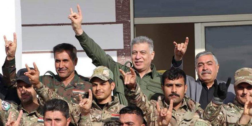 KERKÜK - Türkmen liderin bozkurt işareti ile verdiği mesajlar infiale yol açtı
