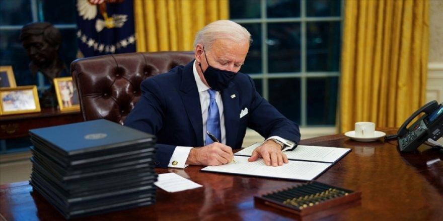 ABD Başkanı Biden ilk gününde 17 kararname imzaladı: Trump'ın aldığı birçok karar iptal edildi