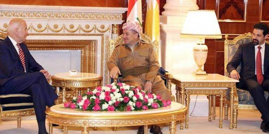 ABD Erbil Başkonsolosluğu, Biden ile Kürt liderlerin fotoğraflarını paylaştı