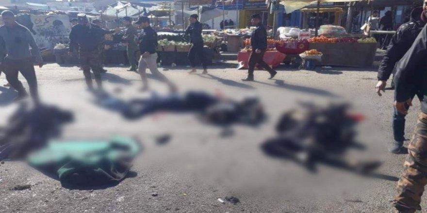 Irak'ın başkenti Bağdat peş peşe saldırılarla sarsıldı