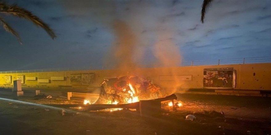 Bağdat Uluslararası Havaalanı'na füzeli saldırı
