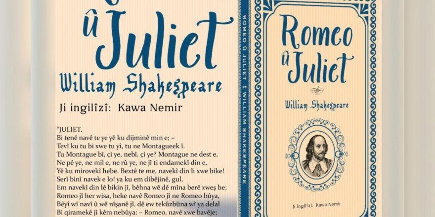 Shakespeare'in tüm külliyatı Kürtçeye çevriliyor: Romeo ve Juliet bugün çıkıyor, her ay bir eser piyasada olacak