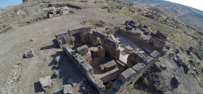 Diyarbakır'da bin 700 yıllık tapınak bulundu