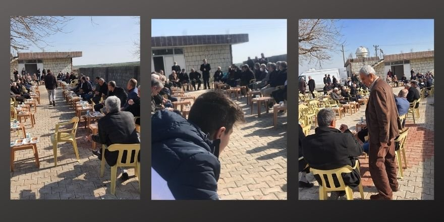 PAK Genel Başkanı Mustafa Özçelik'in katılımıyla Derik'te İki Karahan Ailesi Barıştılar