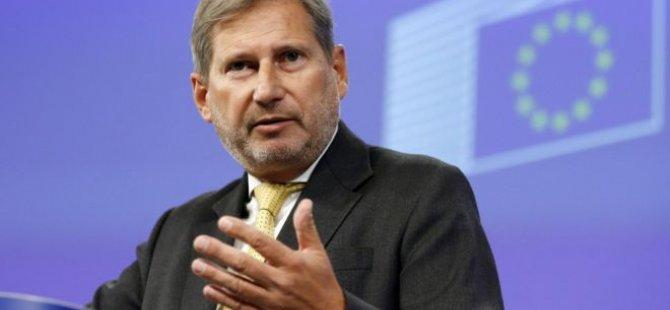 """Johannes Hahn: """"Türkiye'nin AB rüyası şimdilik bitti"""""""