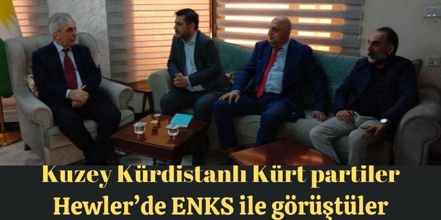 Kuzey Kürdistanlı Kürt partiler Hewler'de ENKS ile görüştüler