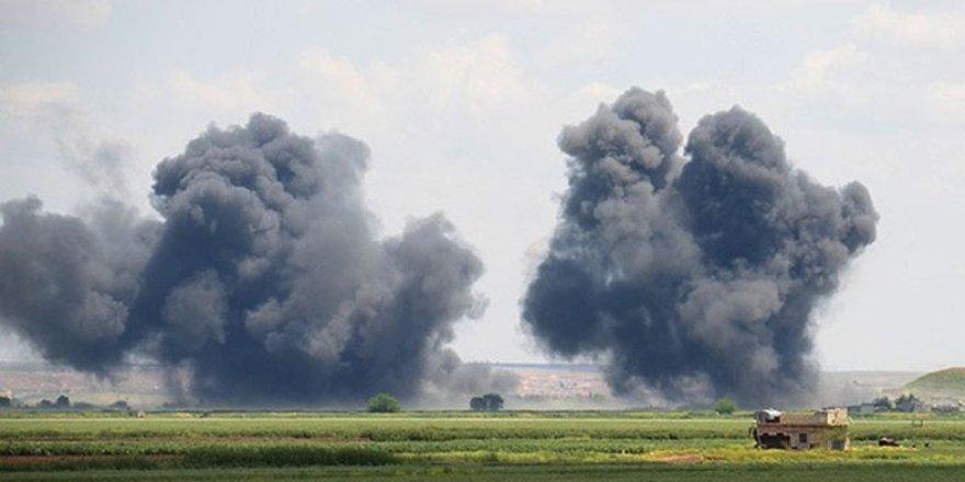 Koalisyon'dan IŞİD'e bombardıman!