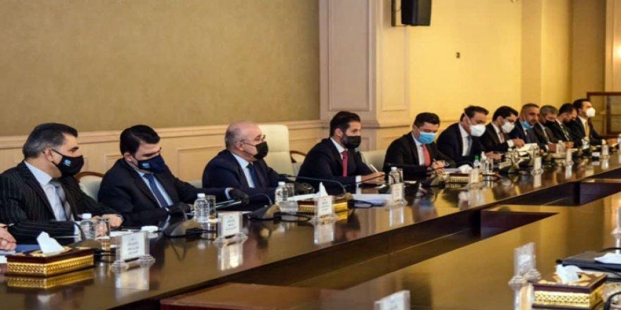 Kürdistan heyeti, Irak Parlamento Başkanlığı'yla görüştü