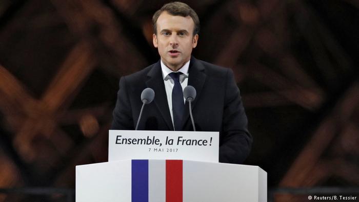 Fransa'nın YeniCumhurbaşkanı Macron oldu