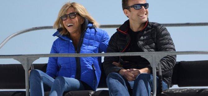 Fransa'nın yeni first ladysi Brigitte Macron