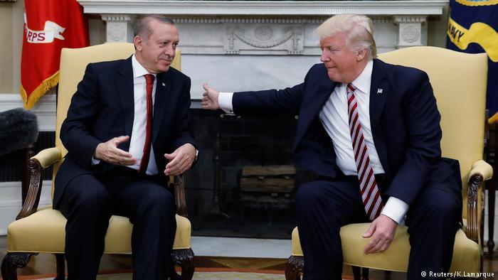Trump -Erdogan görüşmesi