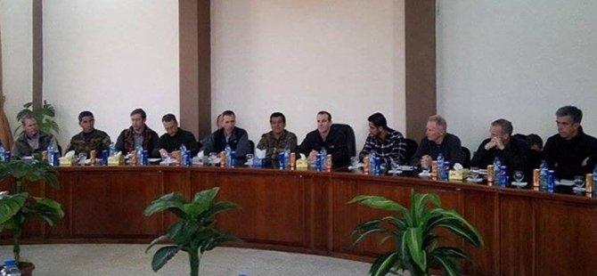 McGurk, Kobani'de YPG ile görüştü