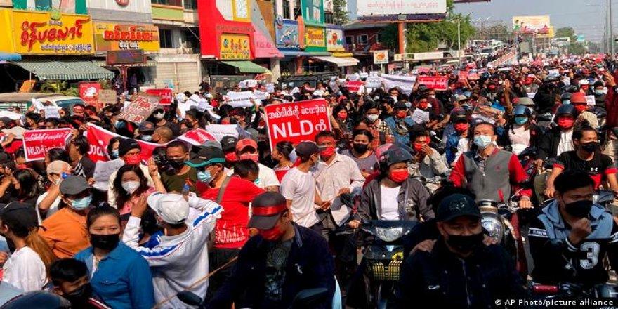 Myanmar'da genel grev çağrısı